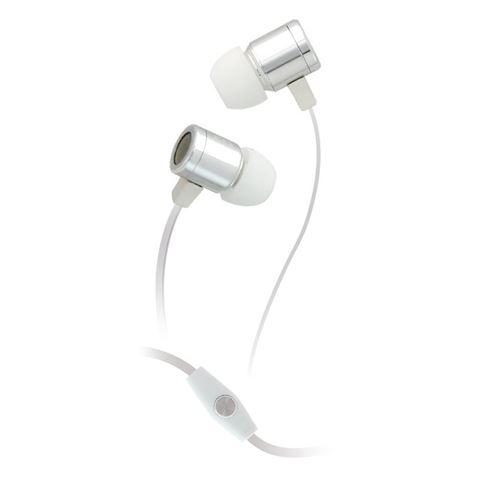 Снимка от Сребристи стерео слушалки - OXO PLATINUM