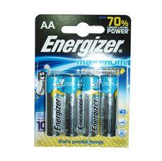 Снимка от Батерия AA - 4бр - ENERGIZER Maximum