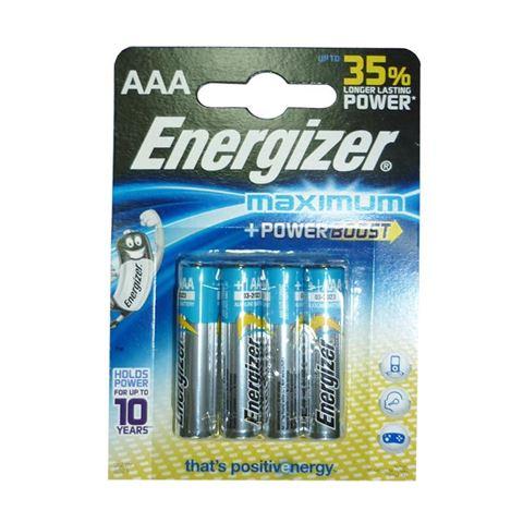 Снимка от Батерия AAA - 4бр - ENERGIZER Maximum