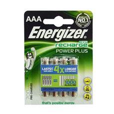 Снимка от Презареждащи се батерии AAA - 700 mAh - 4бр - ENERGIZER Power plus