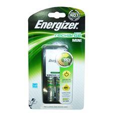 Снимка от Зарядно устройство за презареждащи се батерии + 2бр батерии AA - ENERGIZER Mini