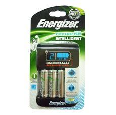 Снимка от Зарядно устройство за презареждащи се батерии + 4бр батерии AA 2000 mAh - ENERGIZER Intelligent