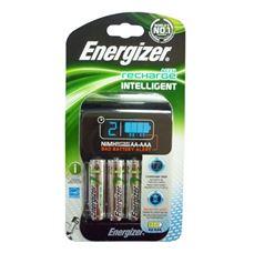 Снимка от Зарядно устройство за презареждащи се батерии + 4бр батерии AA 2300 mAh - ENERGIZER Intelligent