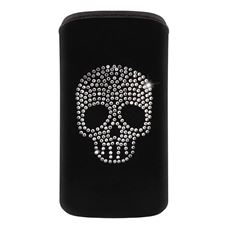 Снимка от Калъф за телефон, размер M - OXO Strass Skull