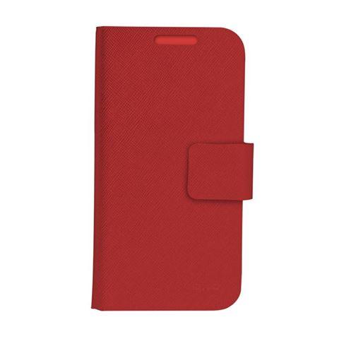 Снимка от Червен калъф за мобилен телефон тип книга, размер XL – OXO PLATINUM