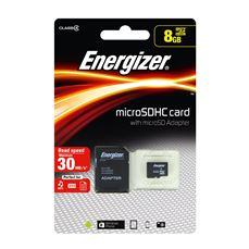 Снимка от Карта памет 8GB 30MB/s - Energizer