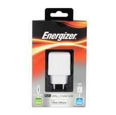 Снимка от Зарядно устройство 220V за iPhone 5/5C/5S/6/6S - ENERGIZER