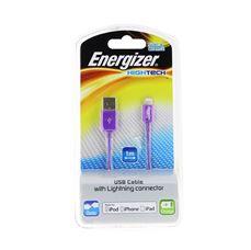 Снимка от USB кабел за iPhone 5/5C/5S/6/ iPad mini/ iPod - ENERGIZER