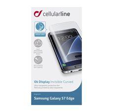 Снимка от Извит дисплей протектор за Samsung Galaxy S7 Edge - Cellular Line