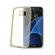 Снимка от Капак LASER за Samsung Galaxy S7 Edge златен - Celly