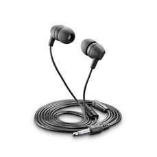 Снимка от Универсални стерео слушалки черни - Cellular Line