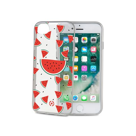 Снимка от Капак TEEN за iPhone 8 / 7 / 6 / 6S, Watermelon - Celly