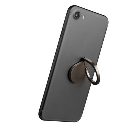 Снимка от Пръстен стойка за телефон, черен - Celly