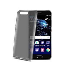 Снимка от Капак GELSKIN за Huawei P10 , прозрачно/черен - Celly