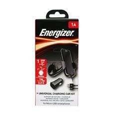 Снимка от Комплект стойка и зарядно у-во за автомобил с Micro USB кабел, 1xUSB, 1A - ENERGIZER