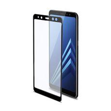 Снимка от Стъклен протектор FULL GLASS за Samsung Galaxy A8 Plus , черен - Celly