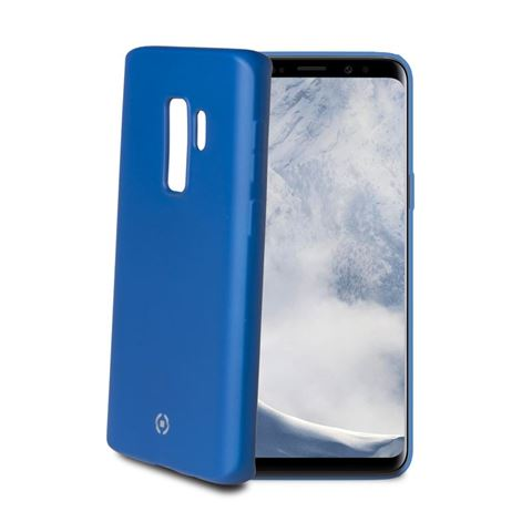 Снимка от Капак SOFT MATT за Samsung Galaxy S9 Plus , син  - Celly