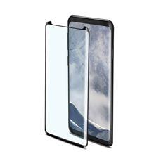 Снимка от Стъклен протектор 3D GLASS за Samsung Galaxy S9 Plus , черен  - Celly