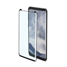 Снимка от Стъклен протектор 3D GLASS за Samsung Galaxy S9 , черен  - Celly