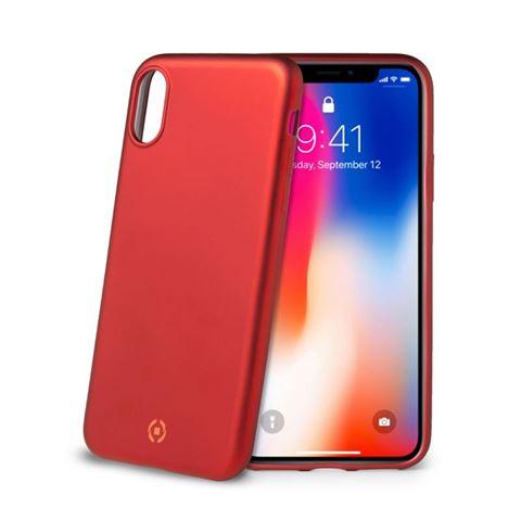 Снимка от Капак SOFT MATT за iPhone XS / X , червен  - Celly