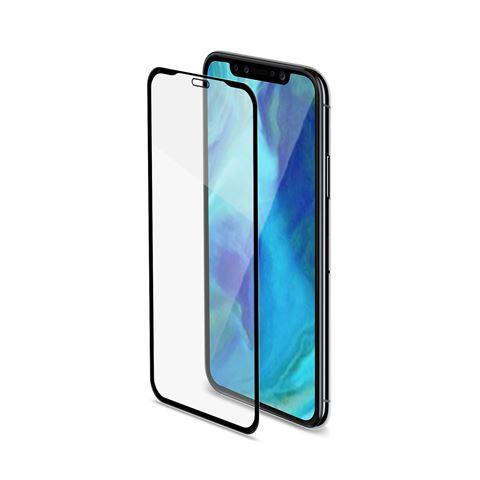 Снимка от Стъклен протектор FULL GLASS за iPhone XR , черен - Celly