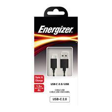 Снимка от Кабел USB- C към USB- A - ENERGIZER
