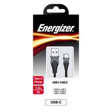 Снимка от USB Кабел с TYPE-C накрайник, Bicolor - ENERGIZER