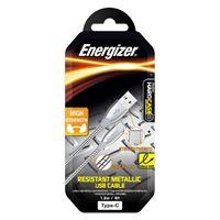 Снимка от Стоманен кабел с Type-C вход - ENERGIZER