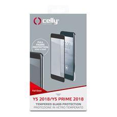 Снимка от Стъклен протектор FULL GLASS за HUAWEI Y5 2018 / Y5 Prime 2018 , черен - Celly