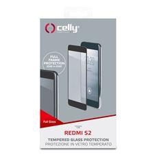 Снимка от Стъклен протектор FULL GLASS за XIAOMI Redmi S2 , черен - Celly