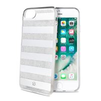 Снимка от Капак STRIPES за iPhone 8 / 7 / 6S / 6, сиви ленти - Celly