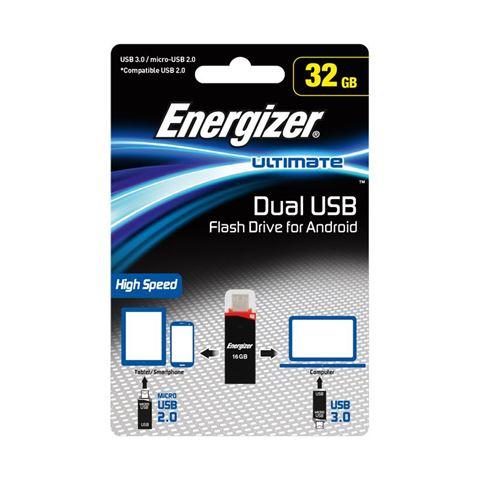 Снимка от USB флаш памет, Ultimate USB 3.0 OTG Flash Drive 32GB pour Android - Energizer