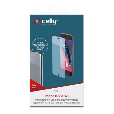 Снимка от Стъклен протектор EASY за iPhone 8 / 7 / 6S / 6 - Celly
