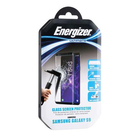 Снимка от Стъклен протектор 3D за Samsung Galaxy S9, черен – ENERGIZER