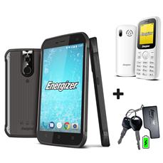 Снимка от Смартфон Energy Е520 LTE + мобилен телефон Energy E10 + Външна батерия