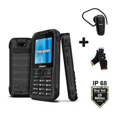 Снимка от Мобилен телефон Hard Case H240S + Блутут слушалка + Ръкавици за тъчскрийн