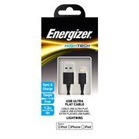 Снимка от Кабел за данни iPhone към USB-А, 1.2м, Black - ENERGIZER