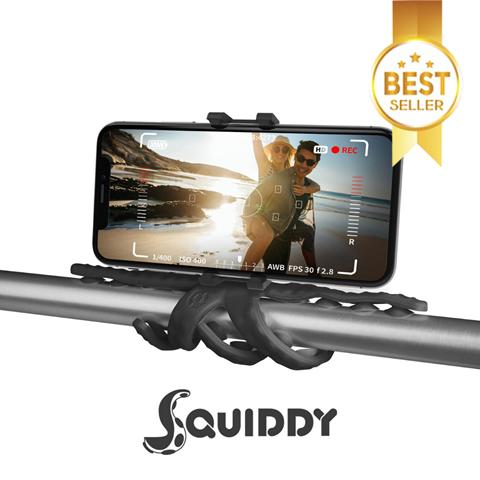 Снимка от Мини трипод за телефон или камера с гъвкави крака Squiddy – Celly