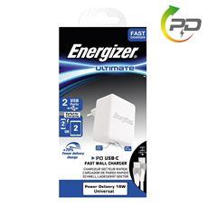 Снимка от Мрежово зарядно с USB-C кабел, 1xUSB, 1xUSB-C, 3.4A  - ENERGIZER