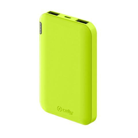 Снимка от Външна батерия ENERGY 5000 mAh, Yellow - Celly