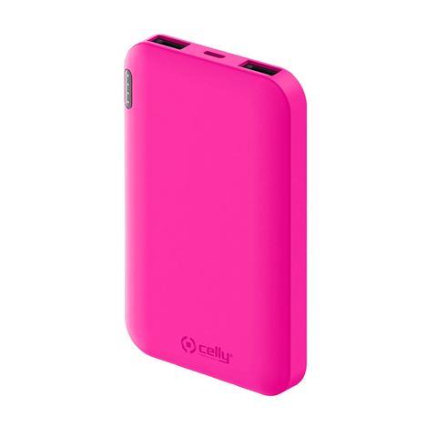 Снимка от Външна батерия ENERGY 5000 mAh, Pink - Celly