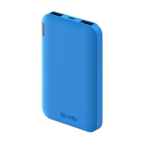Снимка от Външна батерия ENERGY 5000 mAh, Blue - Celly