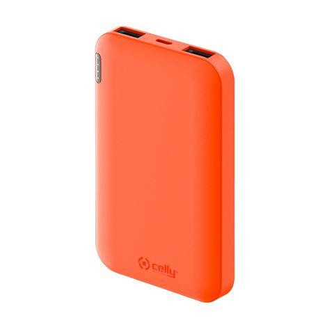 Снимка от Външна батерия ENERGY 5000 mAh, Orange - Celly
