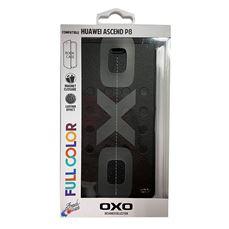 Снимка от Черен калъф за Huawei Ascend P8, шахмат черен – OXO PLATINUM