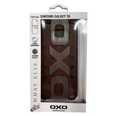 Снимка от Кейс - Гръб за Samsung Galaxy S6, кафяв - OXO PLATINUM